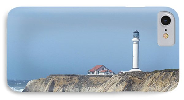 Point Arena Lighthouse IPhone Case by Bonnie Muir