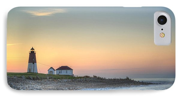 Point Judith Lighthouse IPhone Case by Juli Scalzi