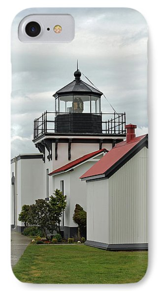 IPhone Case featuring the photograph Point No Point Lighthouse by E Faithe Lester