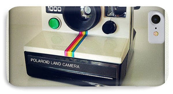 Polaroid Camera.  IPhone Case by Les Cunliffe