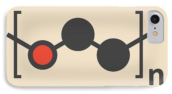 Polyethylene Polymer Molecule IPhone Case by Molekuul