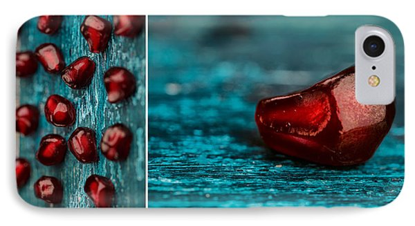 Pomegranate Collage IPhone Case by Nailia Schwarz
