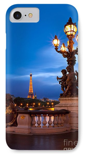 Pont Alexandre IIi IPhone Case by Brian Jannsen