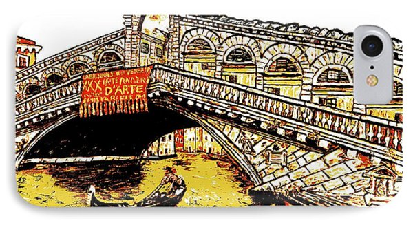 An Iconic Bridge IPhone Case by Loredana Messina
