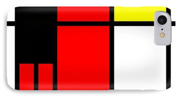 Pop-art Mondriaan IPhone Case by Tommytechno Sweden