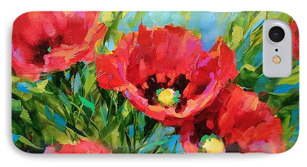 Poppy Tango IPhone Case by Nancy Medina