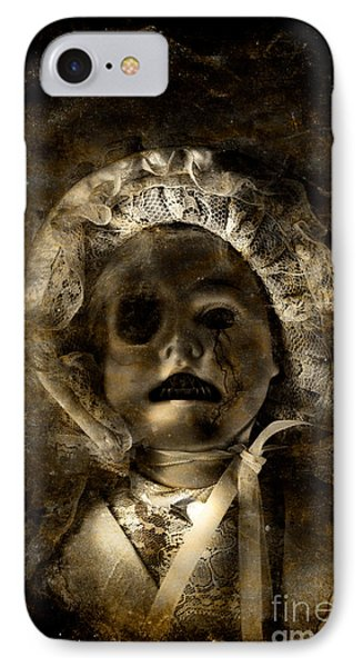 Porcelain Doll Crying Tears Of Cracks IPhone Case by Jorgo Photography - Wall Art Gallery