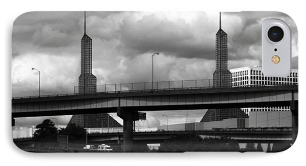 Portland Bridge IPhone Case by Tarey Potter