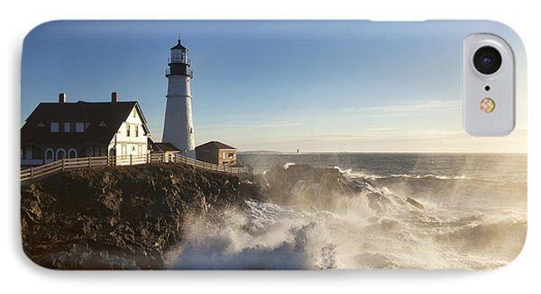 Portland Head Light Phone Case by Eric Gendron