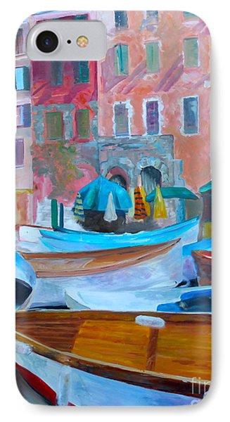 Portofino Phone Case by Barbara Lynn Dunn