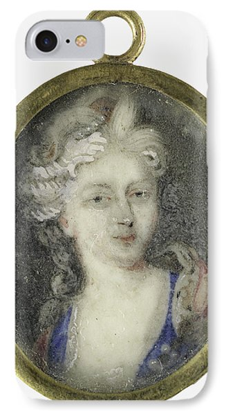Portrait Of A Woman, Presumably Christiane Charlotte IPhone Case by Litz Collection