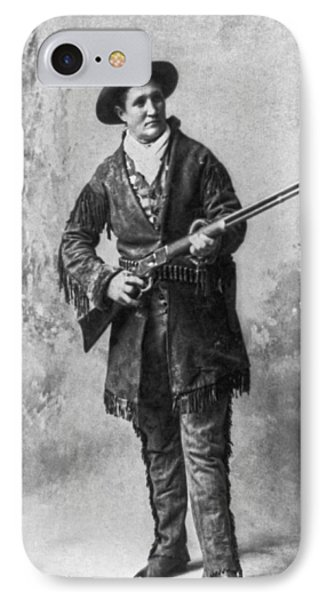 Portrait Of Calamity Jane IPhone Case by Underwood Archives