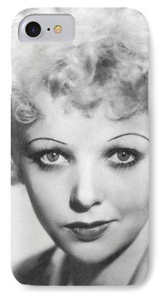 Portrait Of Ida Lupino IPhone Case