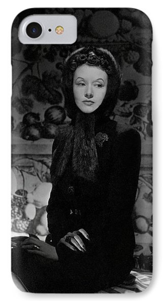 Portrait Of Millicent Rogers IPhone Case by Horst P. Horst