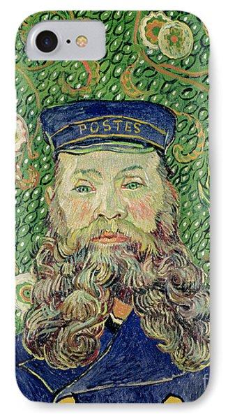 Portrait Of The Postman Joseph Roulin Phone Case by Vincent Van Gogh