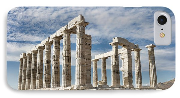 Poseidon's Temple Phone Case by Gabriela Insuratelu