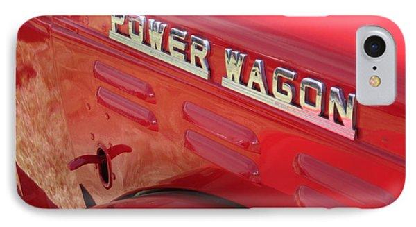 Power Wagon IPhone Case