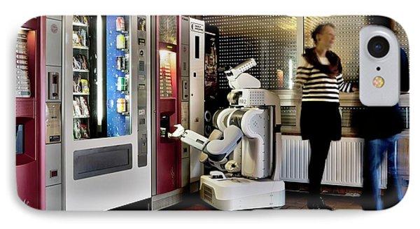 Pr2 Robot Research IPhone Case by Patrick Landmann