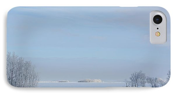 Prairie Winter IPhone Case by Ellery Russell