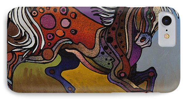 Prancer IPhone Case by Bob Coonts
