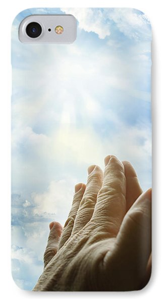 Prayer IPhone Case by Les Cunliffe