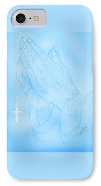 Praying Hands  IPhone Case