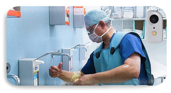Preparing For Surgery IPhone Case