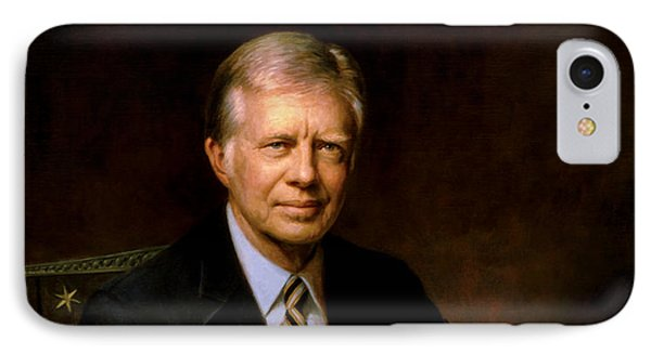 President Jimmy Carter IPhone Case