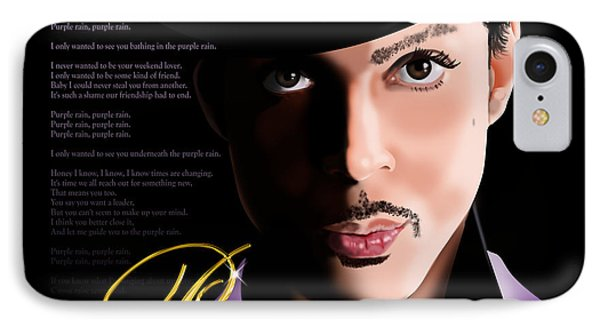 Prince Phone Case by Timothy Ramos