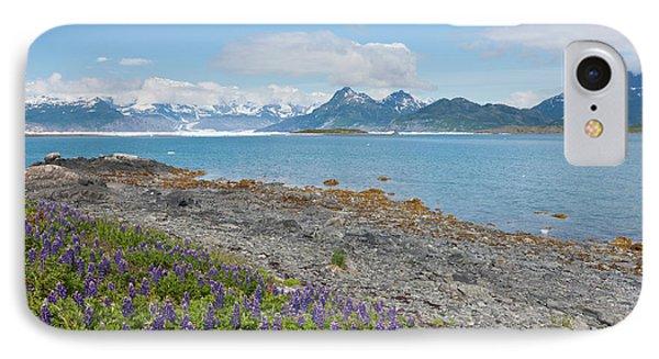 Prince William Sound, Alaska, Lupine IPhone Case