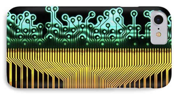 Printed Circuit IPhone Case