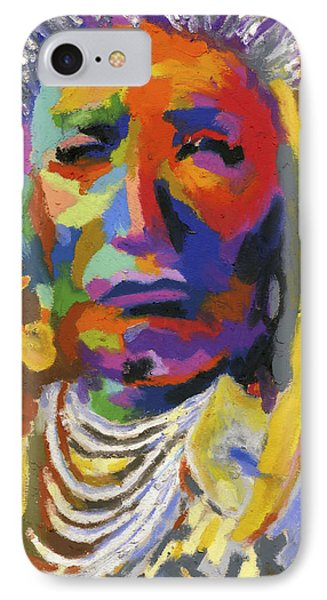 Proud Native American II Phone Case by Stephen Anderson