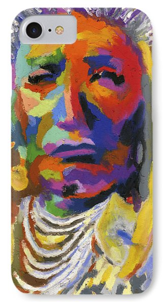 Proud Native American II IPhone Case by Stephen Anderson