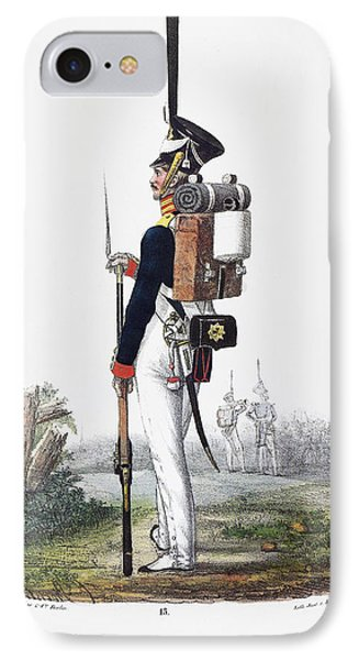 Prussian Soldier, 1830 IPhone Case