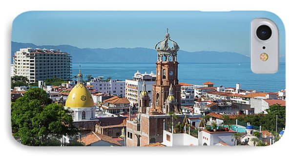 Puerto Vallarta, Jalisco, Mexico IPhone Case by Douglas Peebles