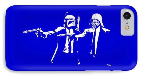 Pulp Wars  IPhone Case by Patrick Charbonneau
