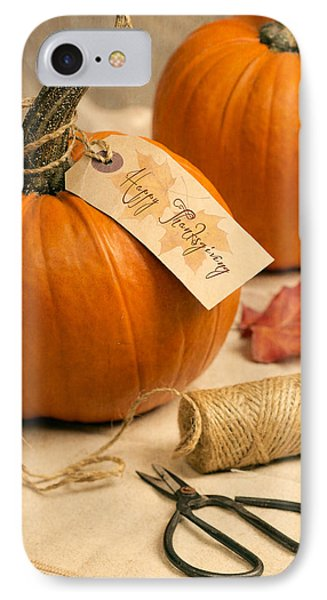 Pumpkins For Thanksgiving IPhone Case by Amanda Elwell