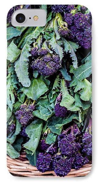 Purple Sprouting Broccoli IPhone 7 Case