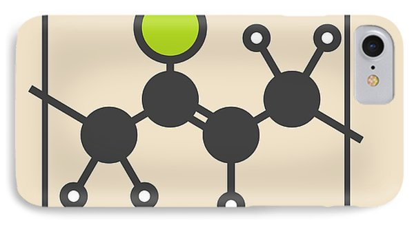Pvc Plastic Polymer Molecule IPhone Case by Molekuul