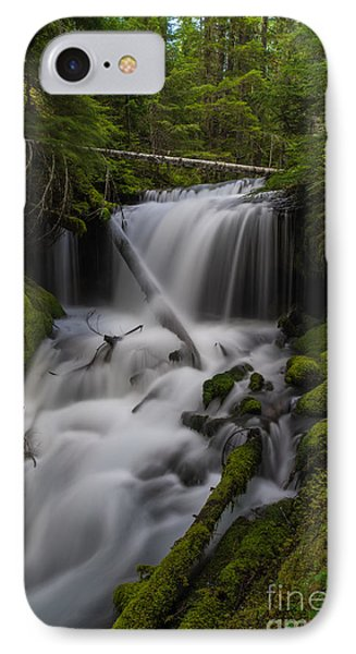 Quiet Falls IPhone Case by Mike Reid