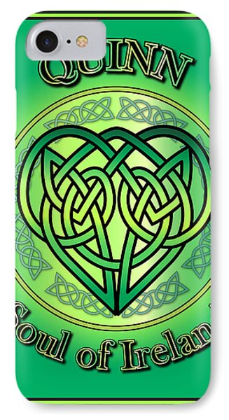 Quinn Soul Of Ireland IPhone Case by Ireland Calling