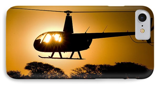 R44 Sunset IPhone Case by Paul Job