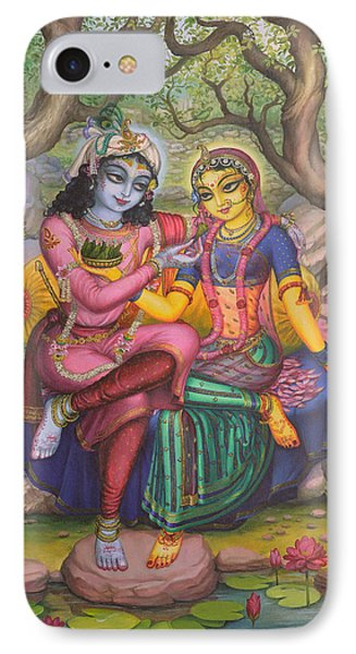 Radha And Krishna IPhone Case