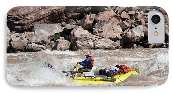 Rafting The Colorado IPhone Case