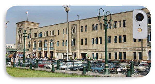 Railway Station Of Mahattat Ramses IPhone Case