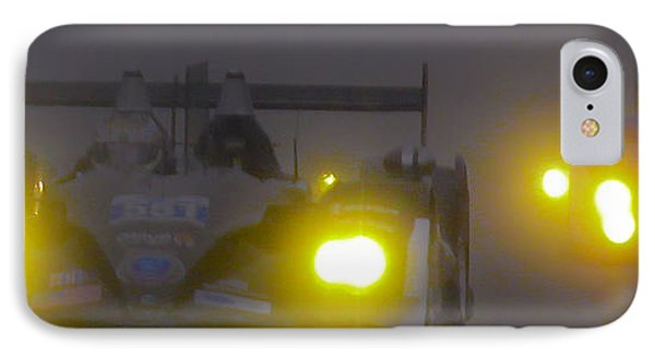IPhone Case featuring the photograph Rain Racers by Michael Nowotny