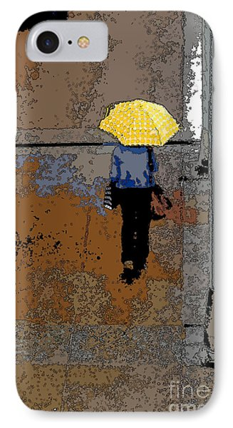 Rainy Days And Mondays IPhone Case by David Bearden