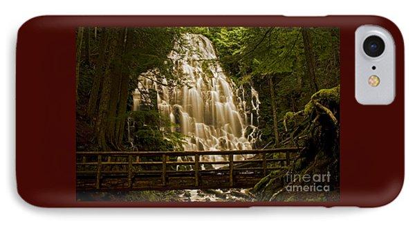 Ramona Falls IPhone Case by Nick  Boren