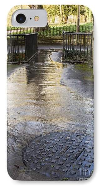 Raw Sewage IPhone Case by Sheila Terry