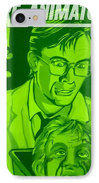 Re-animator Phone Case by Gary Niles